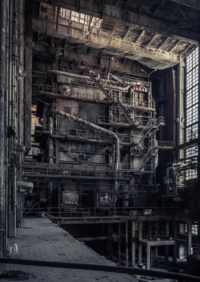 Заброшенные строения Европы Tamas Pataki