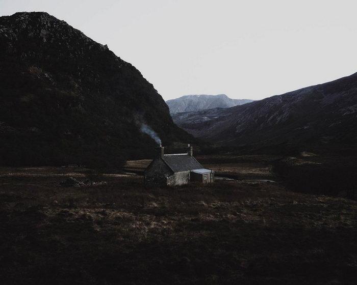 Шотландия в фотографиях Ruairidh McGlynn