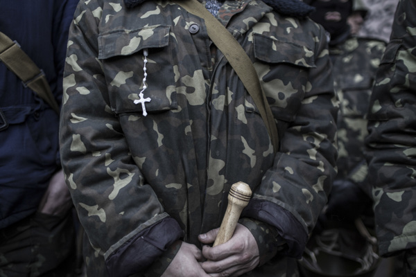 Киев в 2014 году: фотограф Barbaros Kayan