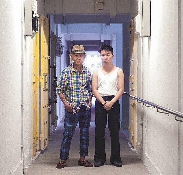 Переодетые родители и дети в фотопроекте Cue Qozop