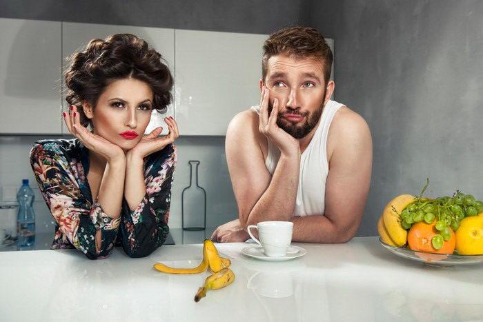 Муж и жена смешное