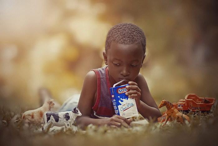 Дети в фотографиях Adrian McDonald
