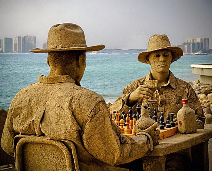 Скульптуры из песка: подборка лучших работ и интересные факты