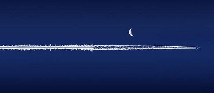 Пейзажи, превращающиеся в звуковые волны