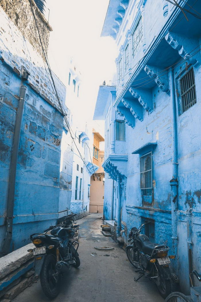 Голубой город Джодхпур в снимках Minh Duc