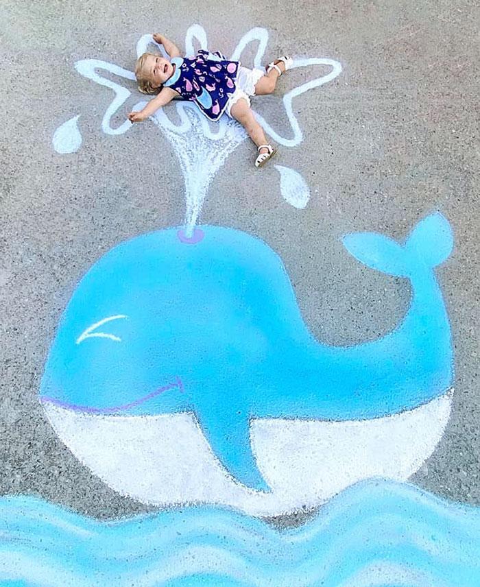 Мелки и дети: яркие фото Abbey Burns Tucker