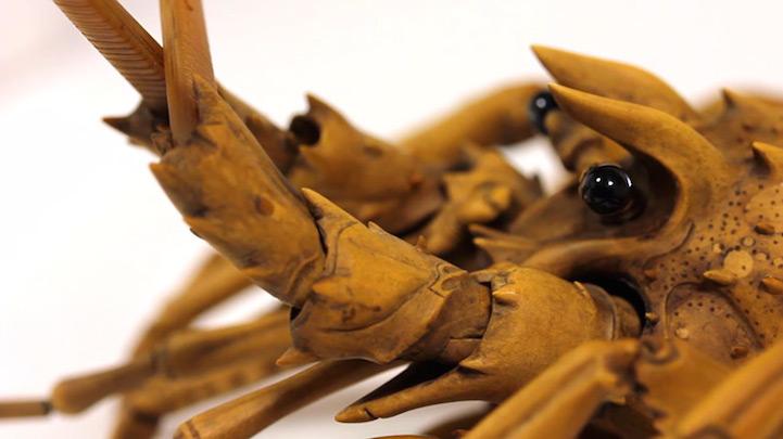 Деревянный лобстер