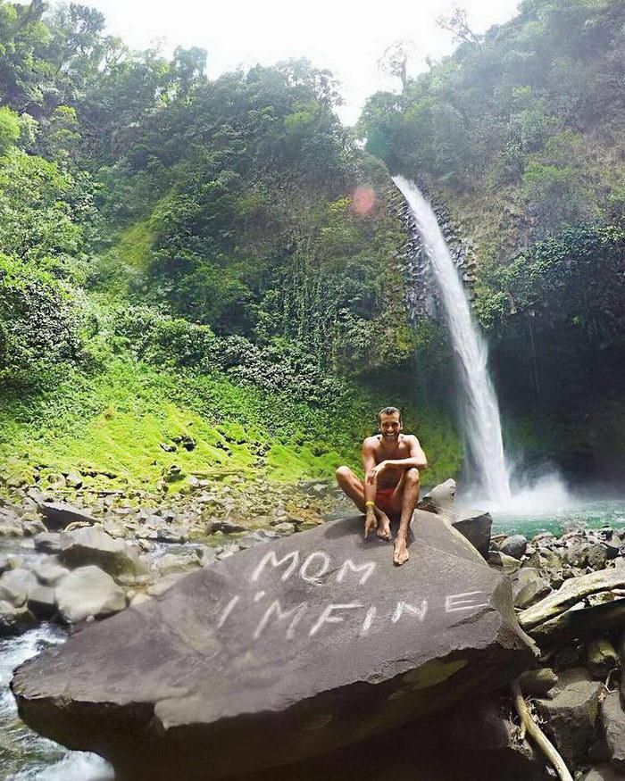 «Мама, я в порядке»: фотопроект Jonathan Kubben Quiñonez