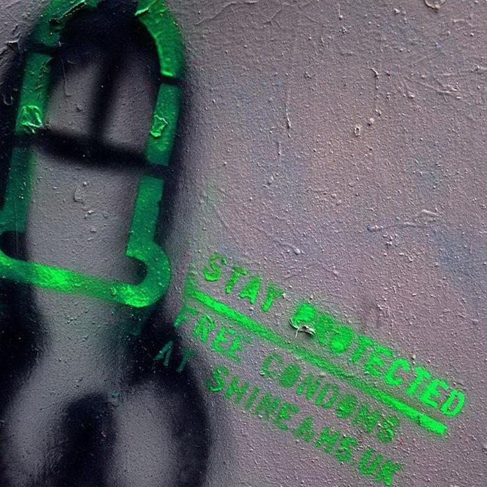 ProtectCityCocks: граффитчик за безопасные половые связи