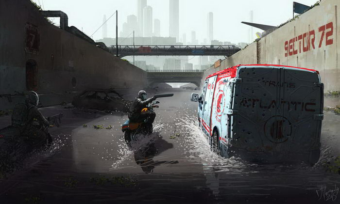 Фэнтези-иллюстрации Jaroslaw Marcinek