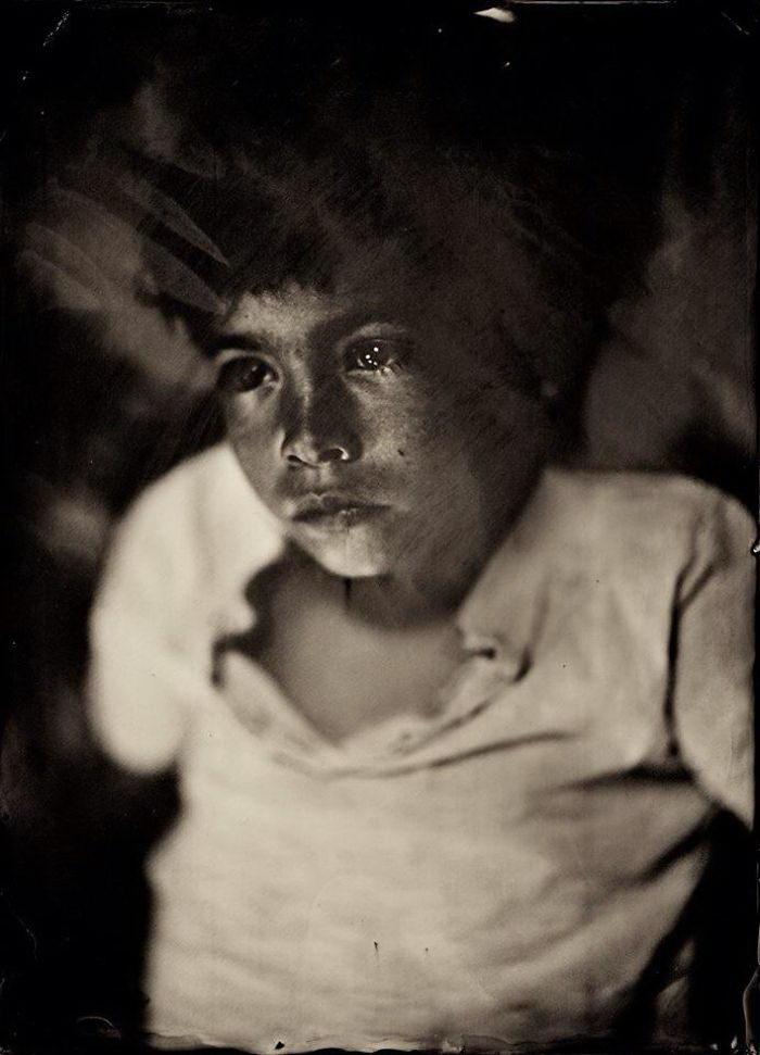Портреты, снятые на камеру XIX века: фото Jacqueline Roberts