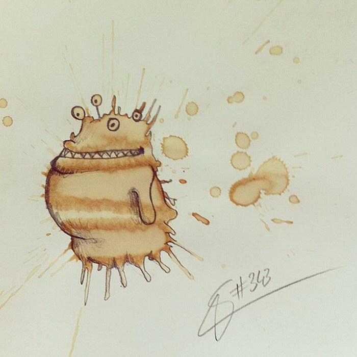 Кофейные монстрики Stefan Kuhnigk