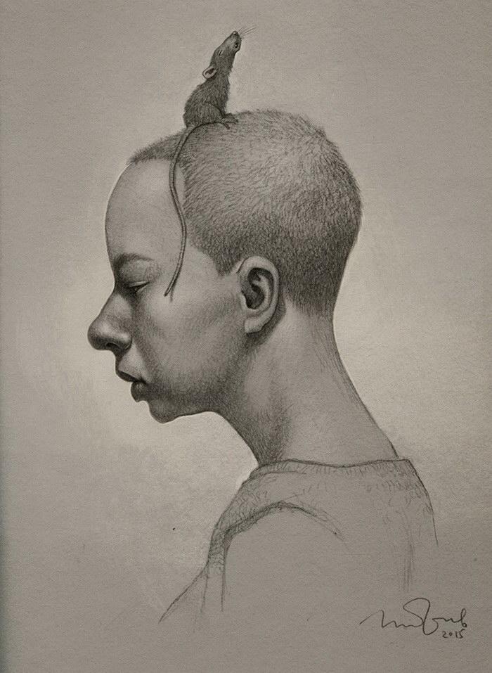 Портреты людей Penko Gelev