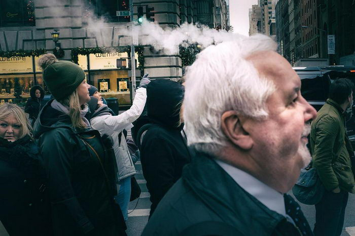 Интересная стрит-фотография Ronen Berka