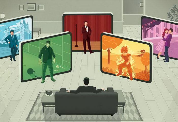 Ироничные иллюстрации Stephan Schmitz о современном мире