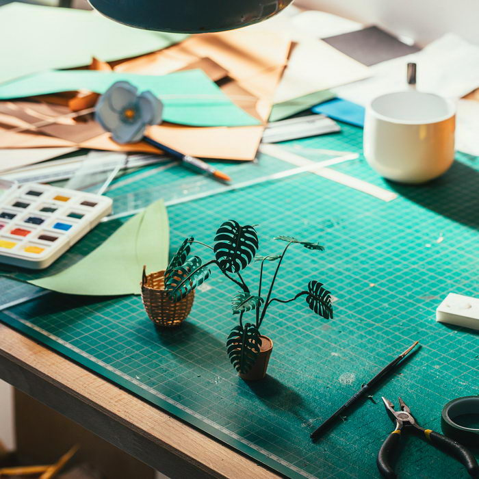 Бумажные растения Raya Sader Bujana