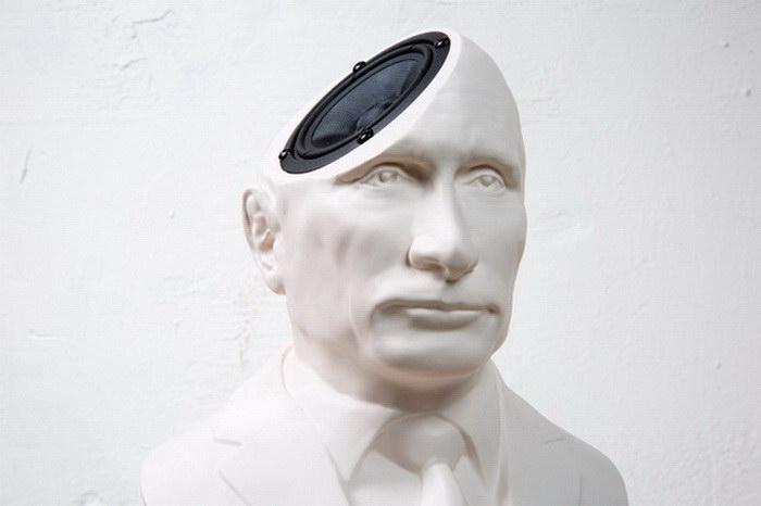 Акустические колонки в виде бюста Путина