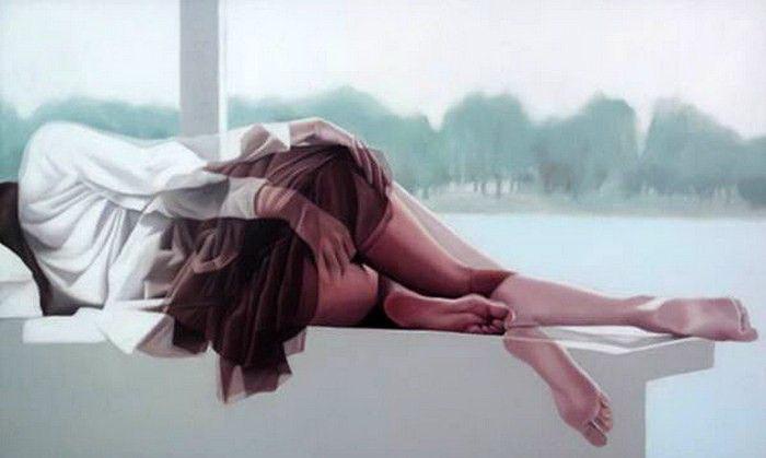 Мультиэкспозиция в картинах: работы Ho Ryon Lee
