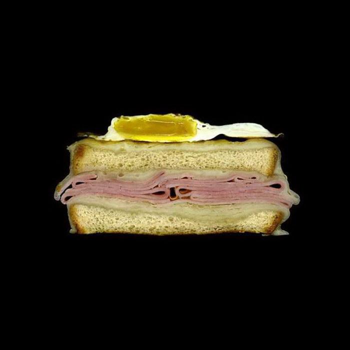Сэндвичи в разрезе: фотопроект Jon Chonko