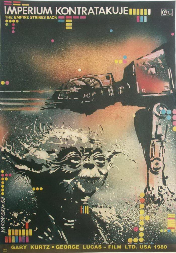Постеры Звездных Войн из СССР, Польши и Венгрии