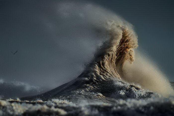 Волны Великих озер в фотографиях Dave Sandford