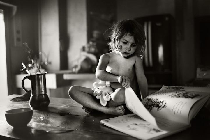 Фотографии детей, сделанные отцом