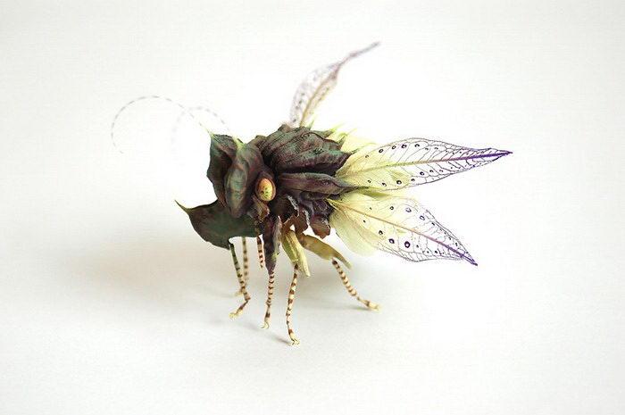 Гиперреалистичные насекомые Hiroshi Shinno
