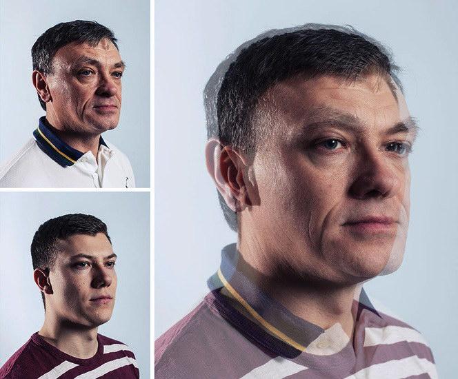 Фотографии отцов и детей Craig Gibson