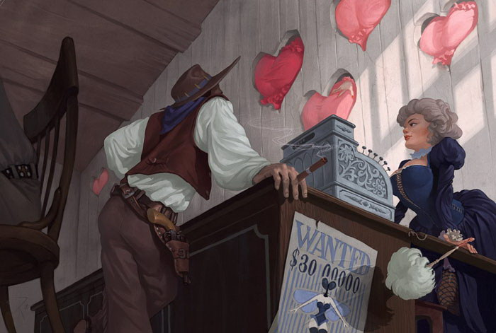 Российский пин-ап в картинах Вальдемара Казака
