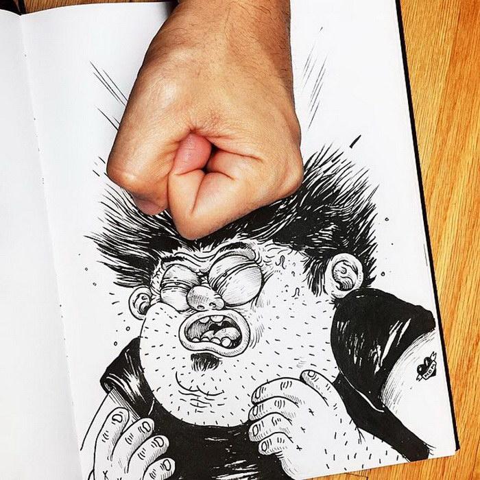 Новые иллюстрации Alex Solis