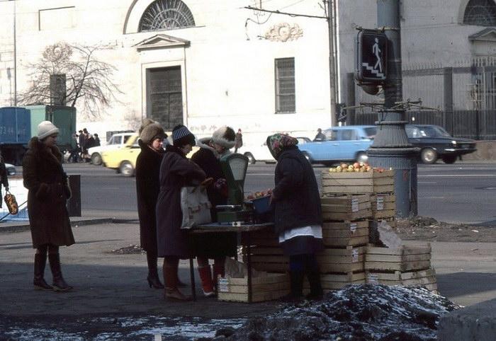 18 фотографий Москвы в 1980-х годах