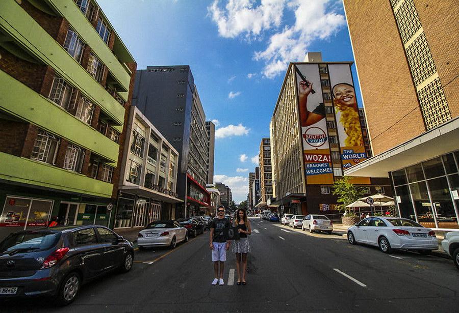 Молодая пара из ЮАР и их долгое путешествие