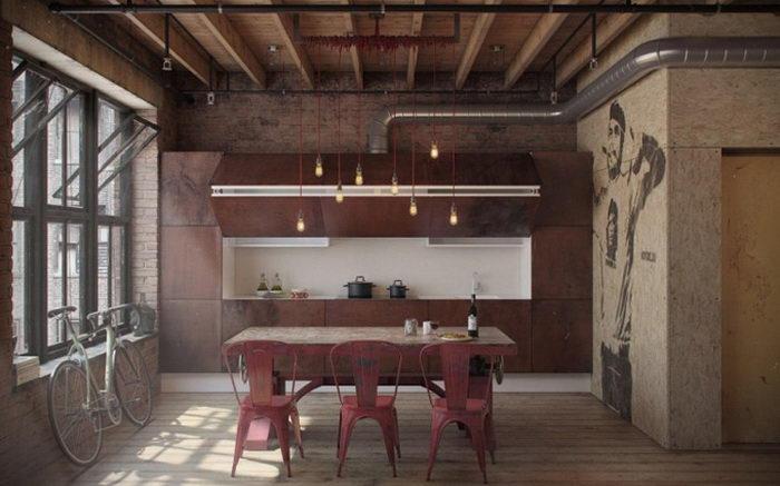Однокомнатная квартира с необычным дизайном