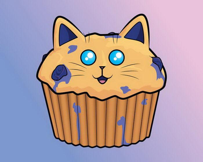 Кошки и еда: иллюстрации Samantha Moore