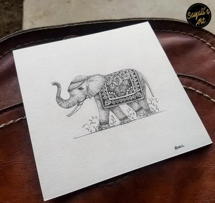 Милые рисунки Sayali Horambe