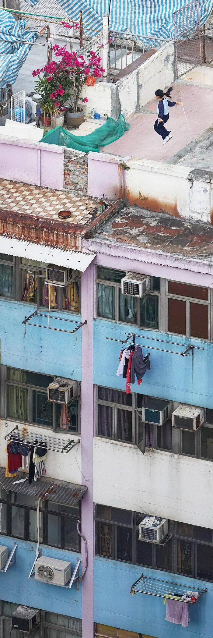 Крыши Гонконга в снимках Romain Jacquet-Lagrez