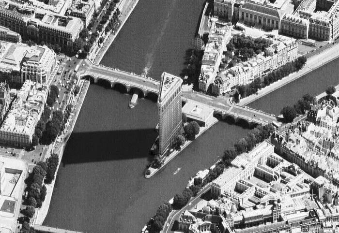 Париж совместился с Нью-Йорком в работах Luis Fernandes