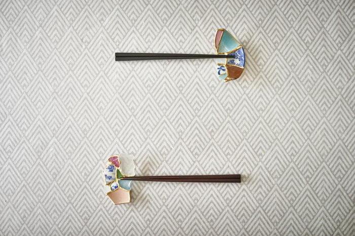 Арт-посуда из сломанной керамики Tomomi Kamoshita