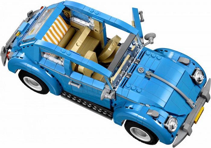 Фольксваген Жук в исполнении Lego