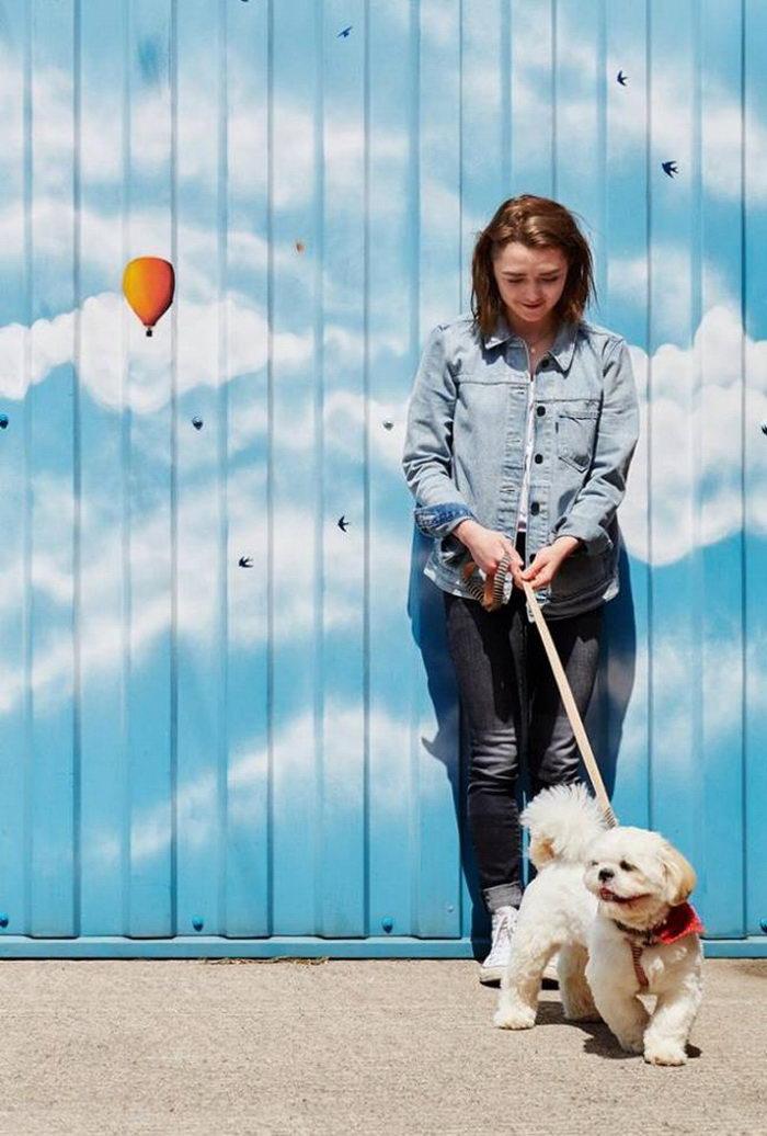 Арья Старк в обычной жизни: фотосессия Maisie Williams