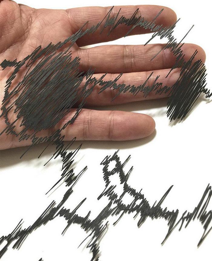 Невероятная резьба бумаги Mr. Riu