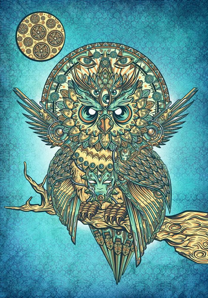 Иллюстрации Juan Manuel Orozco