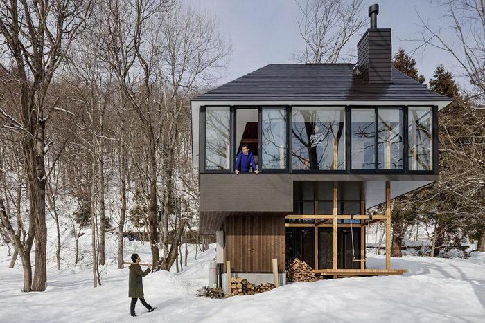 Дом в стиле минимализм в Японии