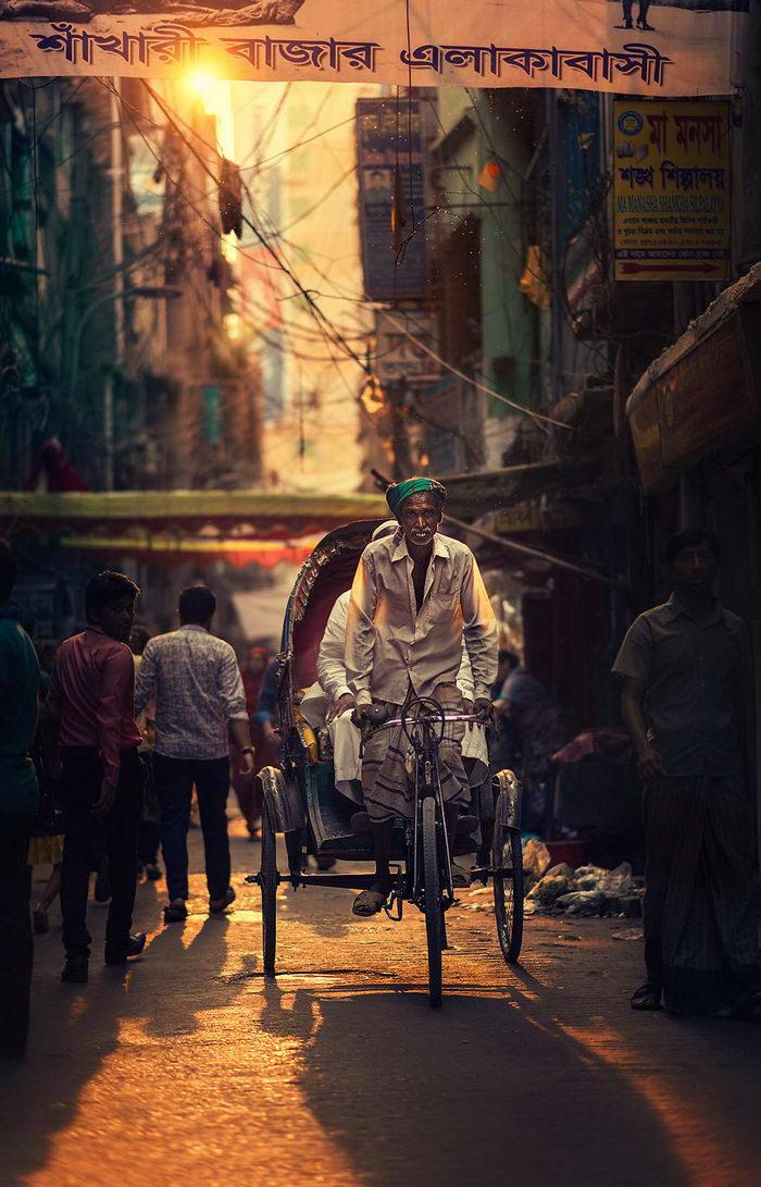 Улочки Южной Азии в фотографиях Ashraful Arefin
