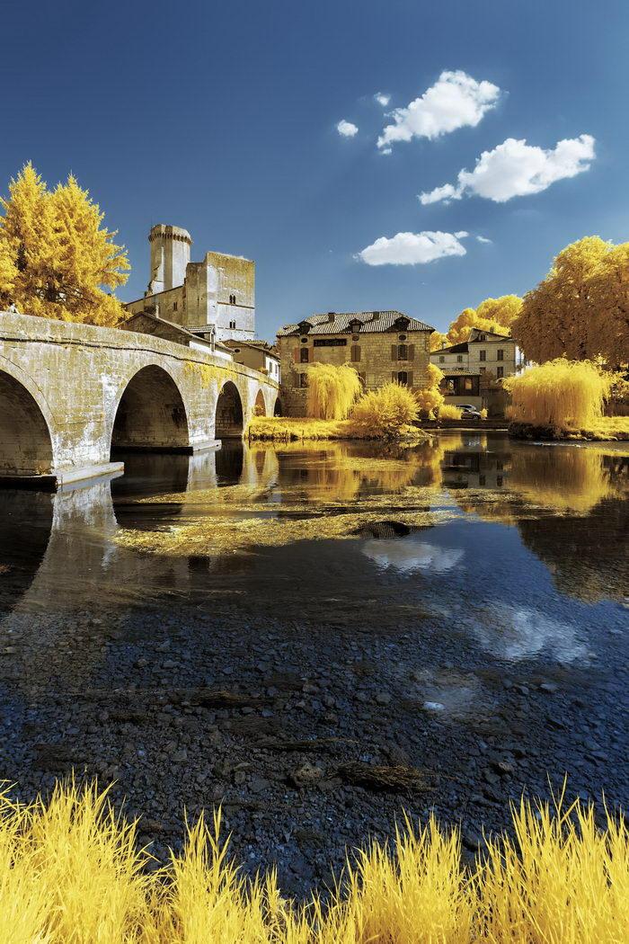 Инфракрасная Франция в снимках Pierre-Louis Ferrer