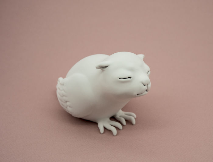 Необычные фигурки животных Clementine Bal