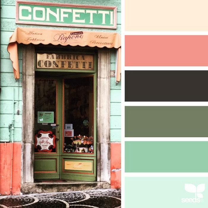 Природные цветовые палитры Jessica Colaluca