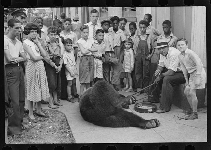 Редкие фотографии США в период с 1935 по 1945 годы