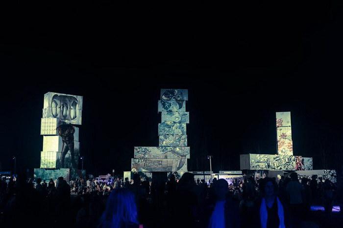 Фестиваль уличного искусства North West Walls 2015