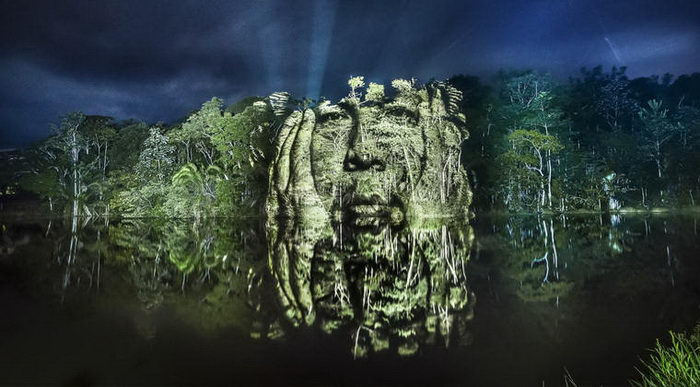 Световое шоу в дебрях Амазонки: проект Philippe Echaroux